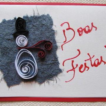 Cartão de Natal - Ref. 1076