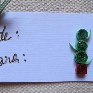 Cartão de Natal - Ref. 1086