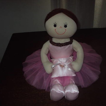Boneca Bailarina Daminha para casamento