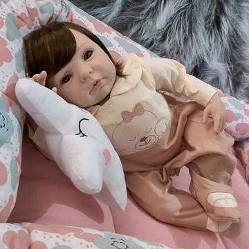 Bebê Reborn com Ninho