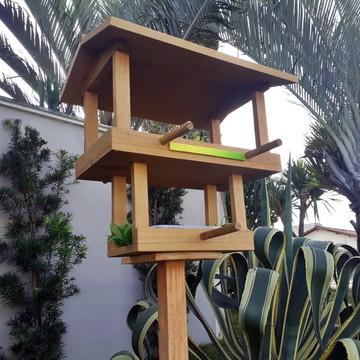 Tratador para Pássaros Livres - Casinha & Banho - Topázio