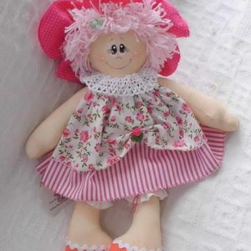 boneca de pano - MARIA FLOR