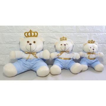 Trio de Urso Para Nicho - Decoração Quarto Bebe -NitaBay