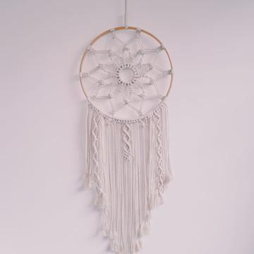 Mandala de macramê - Gabs