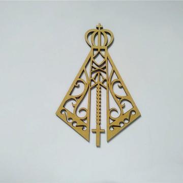 APLIQUE 61 - NOSSA SENHORA M1 14X20cm cod 30180