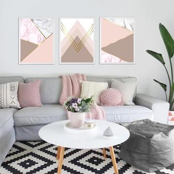 Quadros Decorativos Abstrato Geométrico