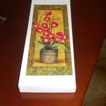Quadro decorativo Vaso com Flores