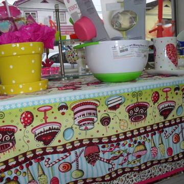Toalha de mesa cupcakes