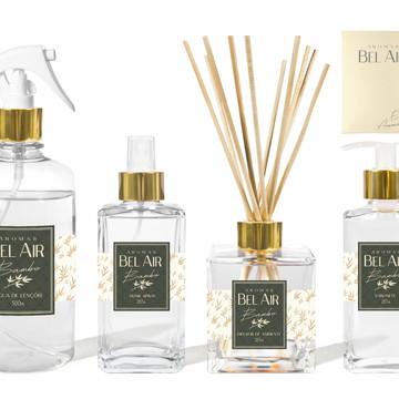 Kit Aromatizador Luxo Bambu Bel Air