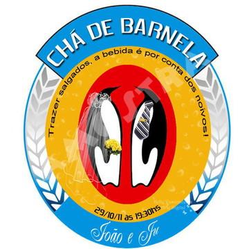 Convite Chá de Barnela (Arquivo Digital)