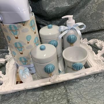 Kit Higiene Balões Azuis