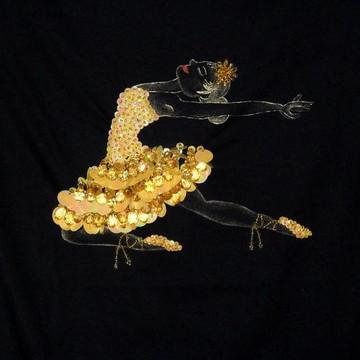 Blusa Bailarina Estilizada