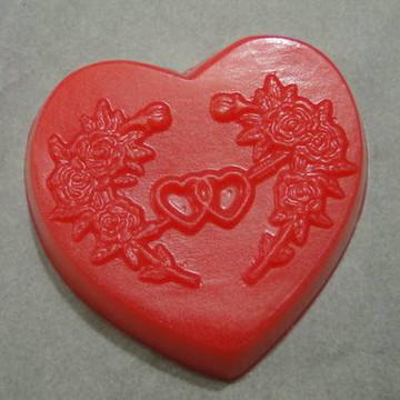 Sabonete Artesanal Coração Casamento