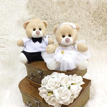 Mini Ursinhos Para Casamento Pajem e Daminha