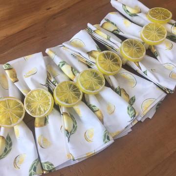Guardanapo de Algodão Limão Siciliano (cada)
