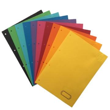 Divisórias de caderno argolado G