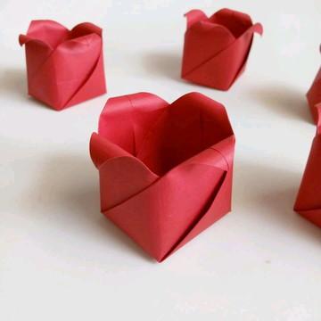 Tulipa | Forminha para Doces em Origami