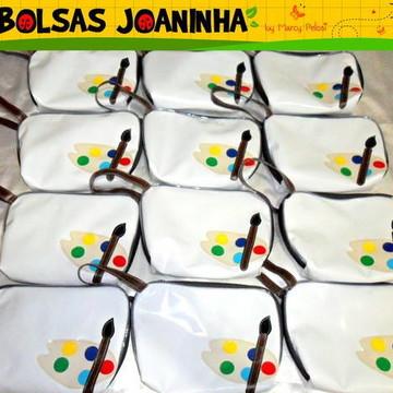 Lembrancinha Bolsa Pintura Aquarela (unidade)