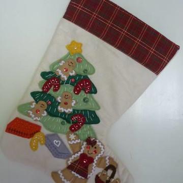 Bota de Natal Boneca de gengibre