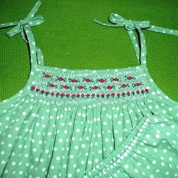Vestido de Bebê 'Mimosinho'