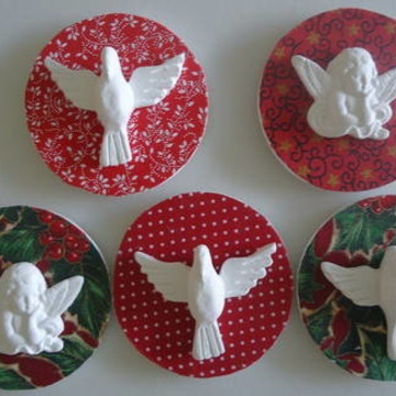 Lembrancinhas de Natal: Anjos e Divinos