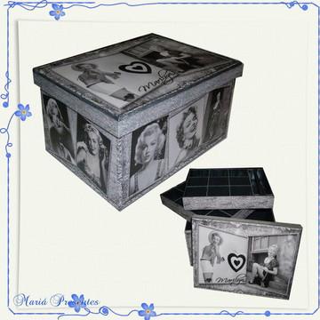Marilyn Monroe caixa de bijuterias