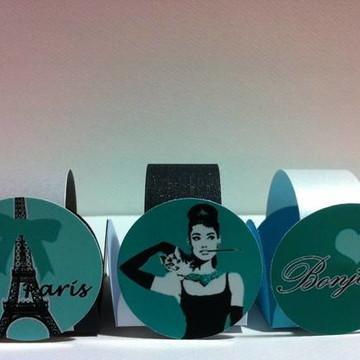 Forminhas com tema Paris