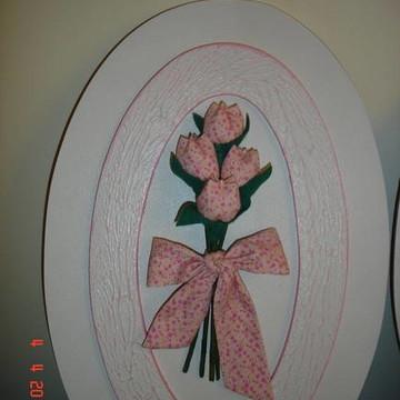 Quadro quarto menina Tulipa