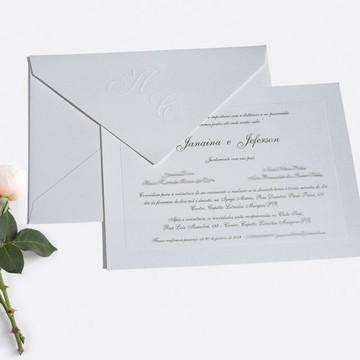 Convite Casamento Tradicional B04