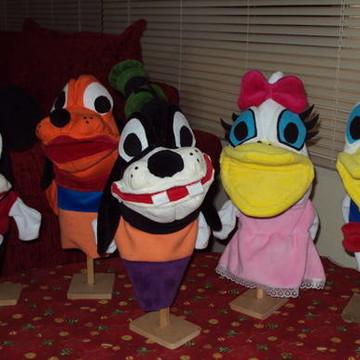 Fantoche Turma Disney