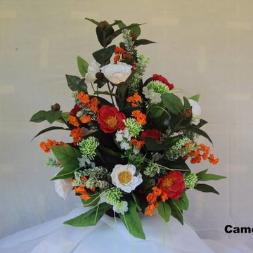 Arranjo de Flores - Camélias