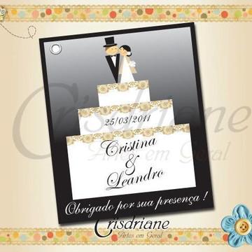 Tag de Casamento Cristina e Leandro