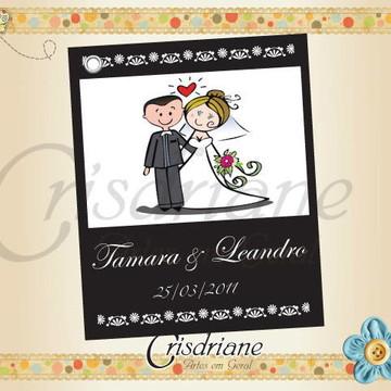 Tag de Casamento Tamara e Leandro