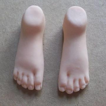 Molde pé masculino ...