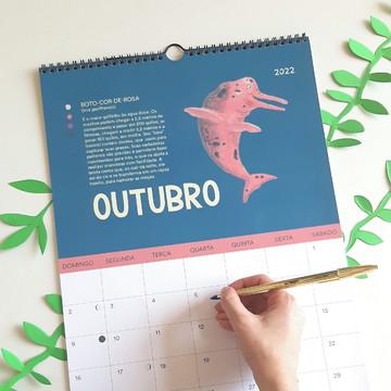 Calendário de Parede 2022 Viagem pela Amazônia