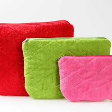 Kit nécessaire toalhas coloridas