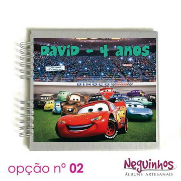 "Álbum ""Carros Disney"" - 140 fotos"