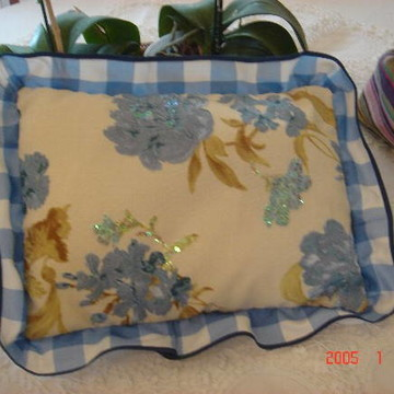 almofada floral