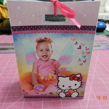 Sacolinha Personalizada Hello Kitty