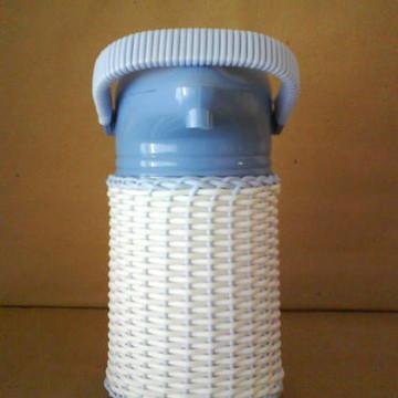 Kit Bebê-Garrafa Térmica azul