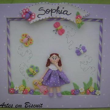 Quadro cheguei Sophia
