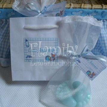 Sabonetes Pezinho de Bebê - LE199