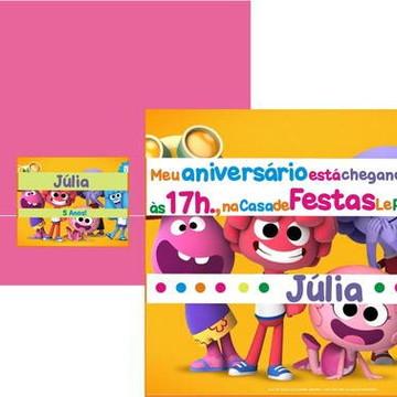 Convite Jelly Jamm