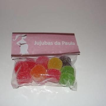 Jujubas Personalizada Chá de Fraldas