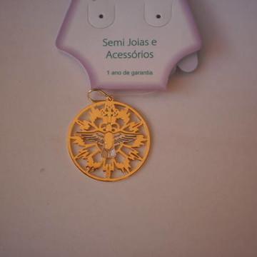 Pingente Medalha Divino Espírito Santo