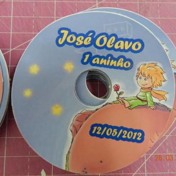Adesivo para CD Pequeno Príncipe