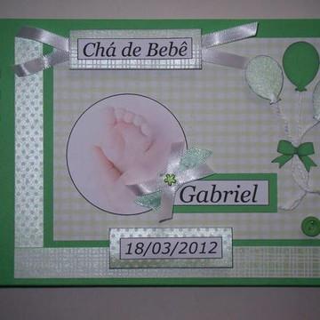 Álbum para Chá de Bebê
