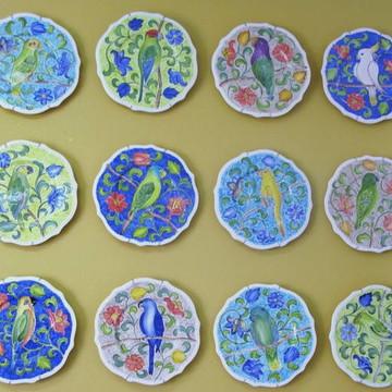 Jogo de Jantar 24 peças cerâmica
