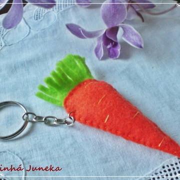 Cenouras de feltro