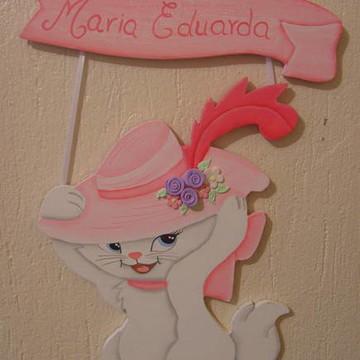 Placa de porta Marie